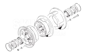 Cleveland D-30660-4 Wheel Assembly