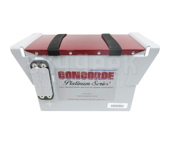 Concorde RG-500 24-Volt Helicopter Turbine Aircraft Battery