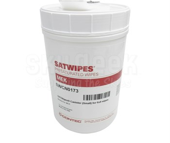 SATWIPES® SWCN0173 Methyl Ethyl Ketone Wipe (SW440022) Replacement Empty Canister Only