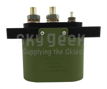 Military Standard MS3506-1 Oval 28-Volt External Aircraft Power Connector, Receptacle