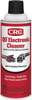 CRC® 05103 QD® Electronic Cleaner - 311 Gram (11 oz) Aerosol Can