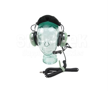 David Clark 12510G-21 Model H10-76 Over-the-Head 5-Foot Coil Cord Low Impedance Military Headset