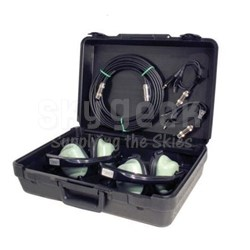 David Clark 09143P-26 Black Hard Plastic Headset Carry Case