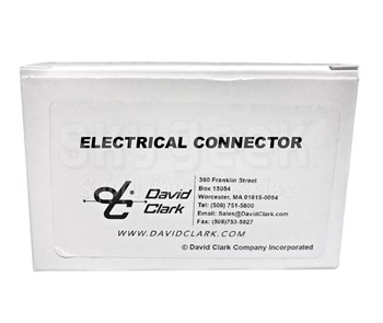 David Clark 13265P-02 Connector Plug 8 Conductor Male