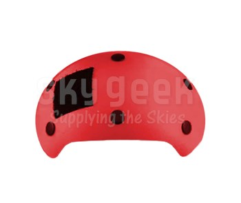 David Clark 22589G-05 Shell Assembly Front Pimento Red Color