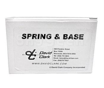 David Clark 22608G-03 Spring and Base Assembly