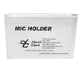 David Clark 25669P-01 Reciver & Microphone Holder