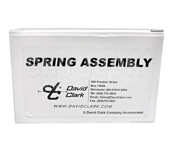 David Clark 40623G-60 Spring Assembly H6740-35