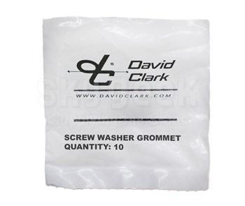 David Clark 40688G-84 Kit Screw Washer & Grom 10Pk