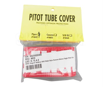 Degroff Aviation 4602 Blade Style Remove Before Flight Pitot Cover
