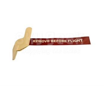 Degroff Aviation 4935 White Bootie Style Remove Before Flight Pitot Tube Cover