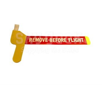 Degroff Aviation 4935E Hi-Viz Yellow Bootie Style Remove Before Flight Pitot Tube Cover