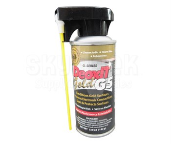 CAIG DeoxIT G5S-6 Gold G5 Spray Contact Cleaner, Enhancer & Protector - 5 oz Aerosol Can