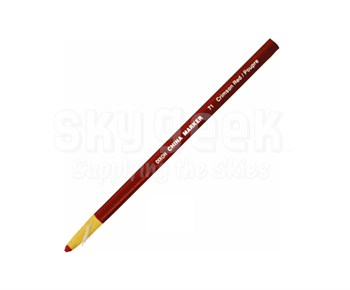 Dixon Phano 00071 Crimson Red China Markers - 12 Marker/Box