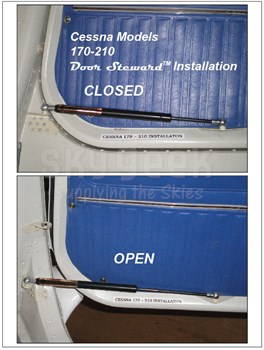 Door Steward 200C10 Cessna 170 thru 210 Cabin Door Installation Pair (one each -1 & -2)