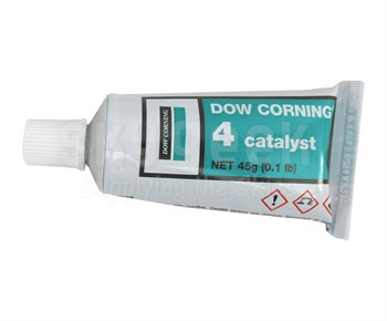 Dow Corning 4 Catalyst Silicone Rubber Curing Agent - 45 Gram Tube