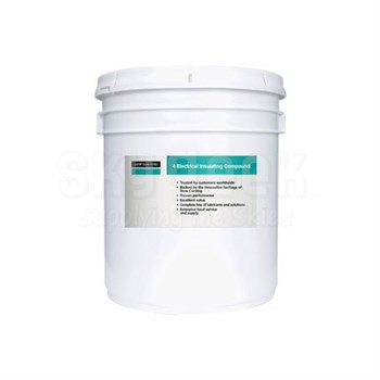 DOW® 1954016 MOLYKOTE™ 4 White Electrical Insulating Compound - 3.6 Kg (8 lb) Pail