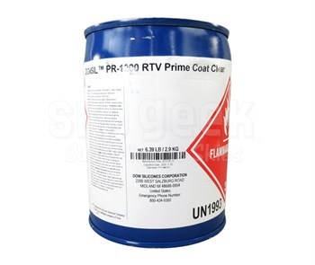Dow Corning PR-1200 Clear RTV General-Purpose Silicone Sealant Primer - 2.9 Kg Pail