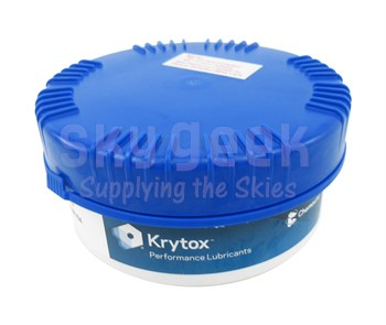 Chemours™ Krytox™ GPL 201 White PTFE Thickened Standard General-Purpose Grease - 0.5 Kg Jar