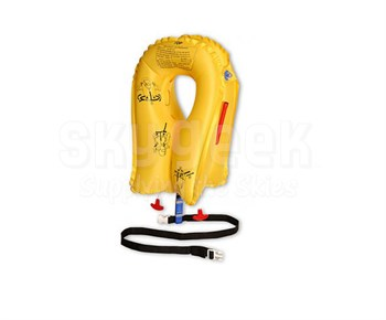 EAM Worldwide P01074-101W Yellow XF-35 Life Vest with Whistle