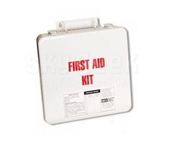 EAM Worldwide RE1062-3 First Aid Kit Replacement Metal Container