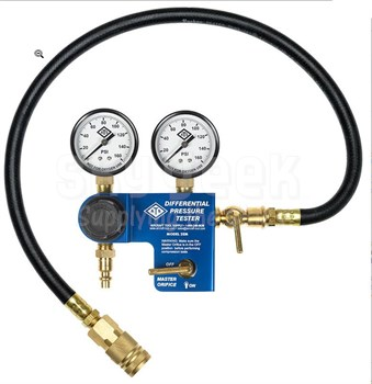 Aircraft Tool Supply 2EM-18 Pro 18mm Aircraft Engine Differential Cylinder Pressure Tester with Master Orifice