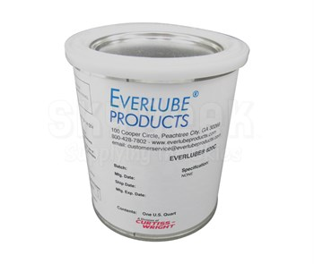 Everlube® 620C 40% Concentrate Gray/Black BMS 3-8F Type I Spec Thermally Cured MoS2/Graphite Based Solid Film Lubricant - Quart Can