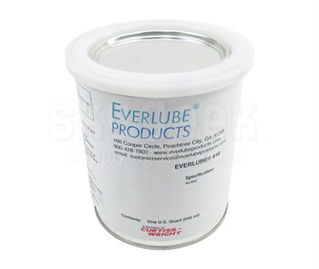 Everlube® 810 Matte Gray Everlube® Standard Spec Thermally Cured MoS2/Graphite Solid Film Lubricant - Quart Can