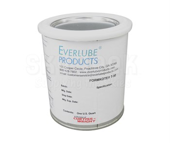 Everlube® Form-Kote® T-50 Gray/Black Everlube® Standard Spec Mold Release - Quart Can