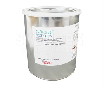 Everlube® 620C Diluted Gray/Black BMS 3-8F Type I Spec Thermally Cured MoS2/Graphite Based Solid Film Lubricant - Gallon Can