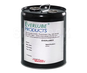Everlube® Perma-Slik® G Gray/Black Everlube® Standard Spec Air Drying MoS2 Solid Film Lubricant - 5 Gallon Pail