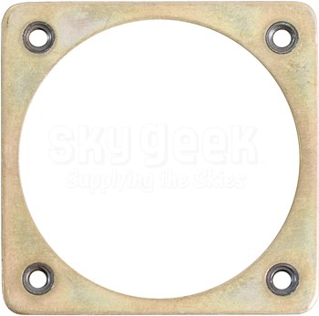 Fastener Specialty FSC/MD-20A Shell Size 20 Electrical Connector Retaining Plate