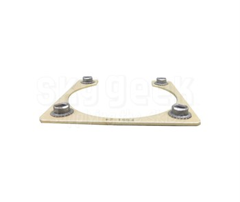 Fastener Specialty FSS1-24 Shell Size 24 Electrical Connector Retaining Plate