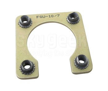 Fastener Specialty FSU-10/7 Shell Size 10 Electrical Connector Retaining Plate
