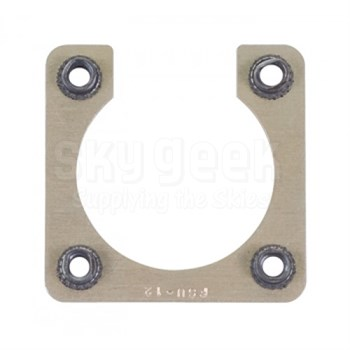Fastener Specialty FSU-12 Shell Size 12 Electrical Connector Retaining Plate