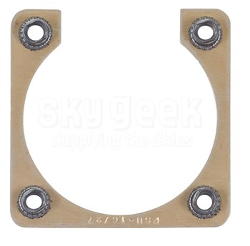 Fastener Specialty FSU-16/27 Shell Size 16 Electrical Connector Retaining Plate