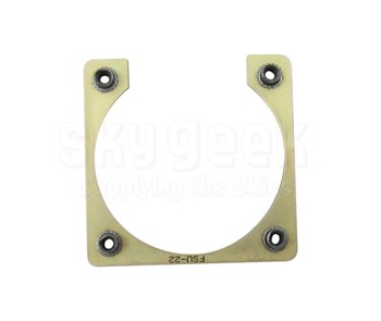 Fastener Specialty FSU-22 Shell Size 22 Electrical Connector Retaining Plate