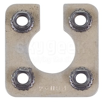 Fastener Specialty FSU-6 Shell Size 6 Electrical Connector Retaining Plate