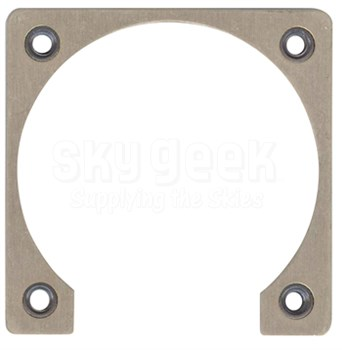 Fastener Specialty FSU-8 Shell Size 8 Electrical Connector Retaining Plate