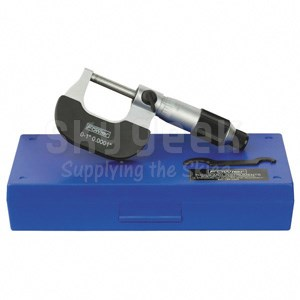 """Fowler 52-229-201 0-1"""" Economy Outside Micrometer"""