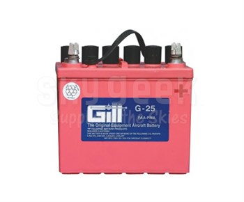 Gill G-25 Aircraft Battery without Acid