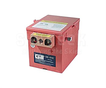 Gill GE-51C Aircraft Battery