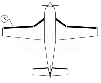 Goodrich P27-7D5164-09 FASTboot® Piper PA46-310P LH Wing De-Ice Boot