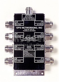 GPS Networking ALDCBS1X8 AMPlified Antenna Splitter
