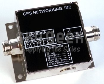 GPS Networking NVGLCDLA30RPDC GPS Variable Gain Line AMPlifier with External Power Supply Networking