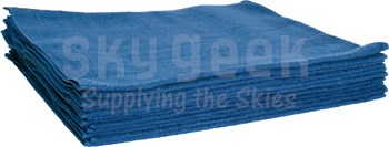 GRANITIZE™ H-33/B Blue Terry Cloth Towels - 12 Towel/Pack