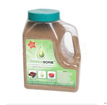 GreenSorb® GS-4 Eco-Friendly Clay Oil Sorbent - 4 lb Jug