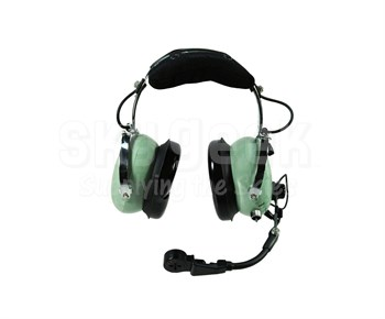 797d3397207 David Clark 40614G-05 Model H10-66XL ENC Battery Power Over-the-Head 5-Foot  Coil Cord Dual Impedance Military Headset at SkyGeek.com