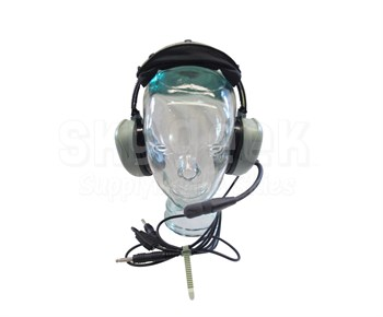 David Clark 40495G-01 Model H20-10 Mono Straight Cord Light-Weight Aircraft Headset