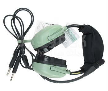 David Clark 40495G-03 Model H20-10XL Portable Battery-Powered Noise-Cancelling Light-Weight Aircraft Headset